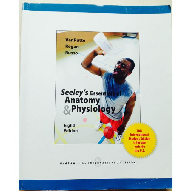 Seeley\'s Essentials of Anatomy and Physiology, Books & Stationery ...