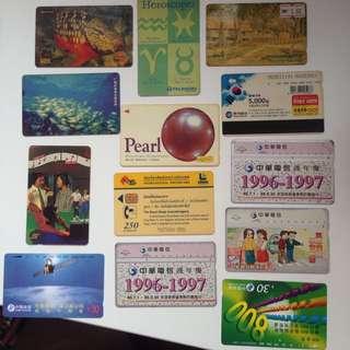 Phone cards (overseas)