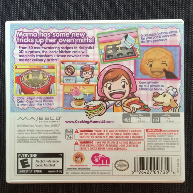 3ds Cooking Mama 4 Kitchen Magic Toys Games On Carousell