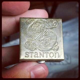 Vintage 70s Stanton Pill Box