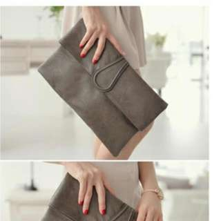 Syntetic Leather Clutch