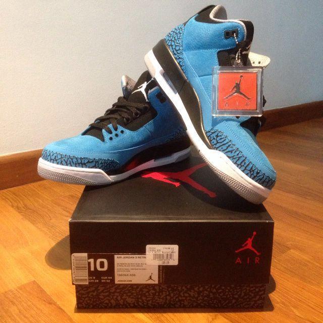 sports shoes d4222 8508a Air Jordan 3 Gamma Blue