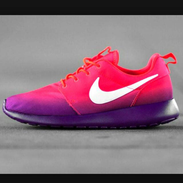 pretty nice 70284 67175 BN Purple - Pink Gradient Roshe Run