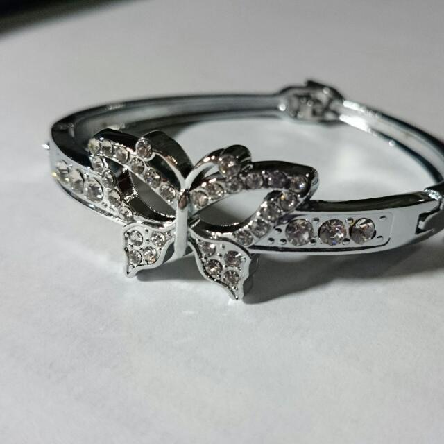 Butterfly Bangle Bracelet