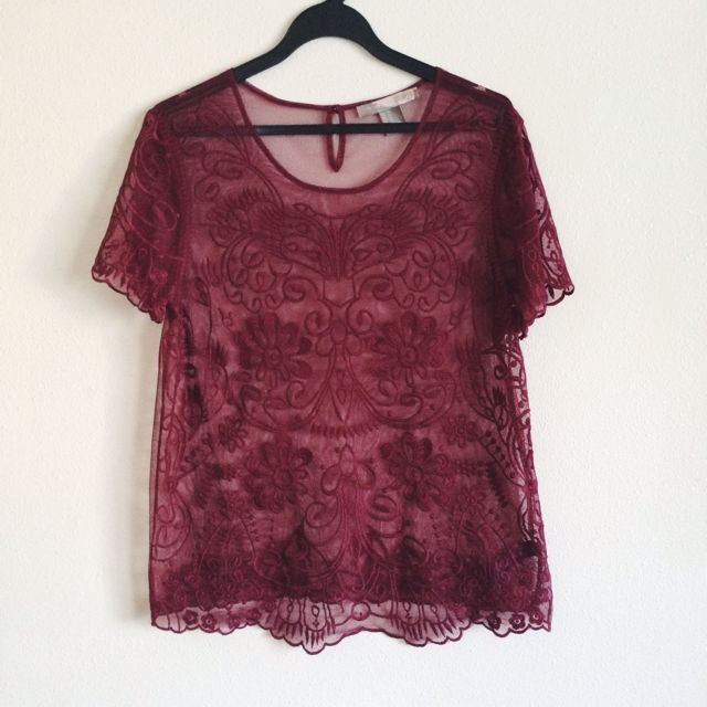 F21 Embroided Top