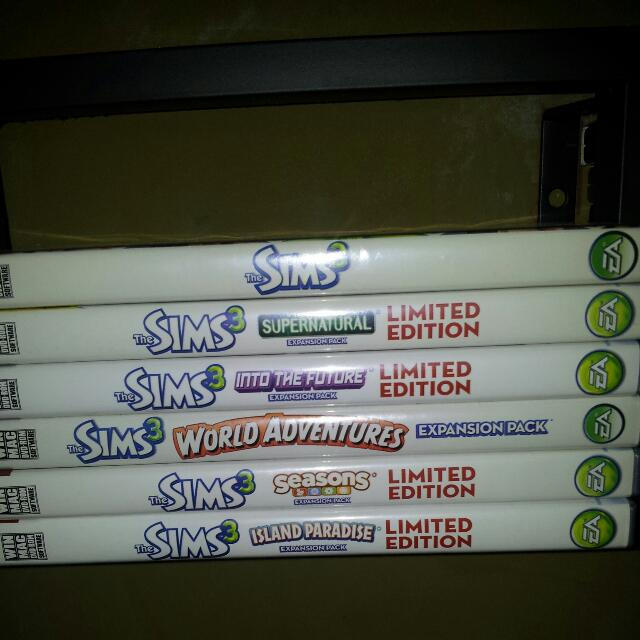 Sims 3 + Expansions