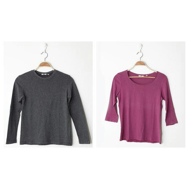 Uniqlo Basic Long Tees