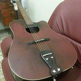 Takamine Acoustic Guitar With Pickup (Good Price!)