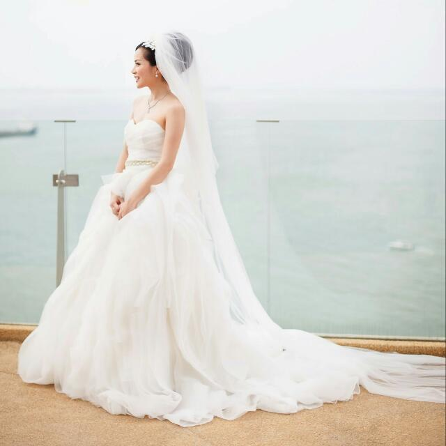 Vera Wang inspired Princess Wedding Dress