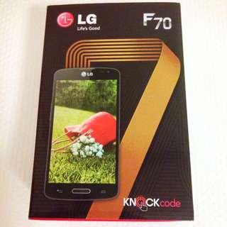 LG F70 + FREE CASE (BRAND NEW W/ WARRANTY)