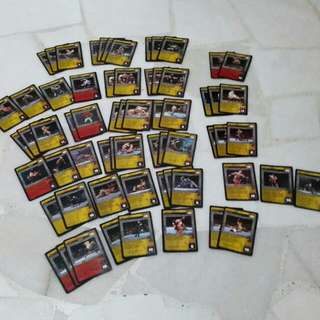Wwe Raw Deal (Rare, Uncommon, Common) Maneuver Cards