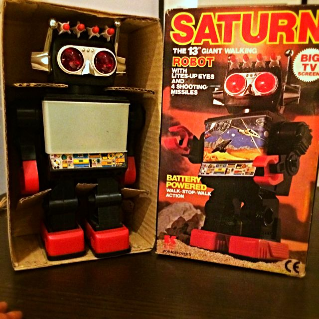 "SATURN 13""giant Walking Robot"