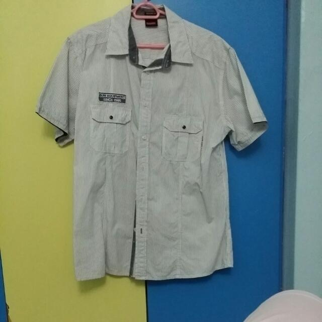 343a2af5ca (Pending)BN striped short sleeve shirt on Carousell