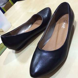 Black Palm Shoe /Flats /Heels From Korea