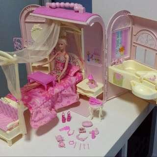 Barbie Bed & Bath House Set