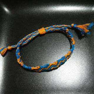 Knotted & Braided Friendship Bracelet