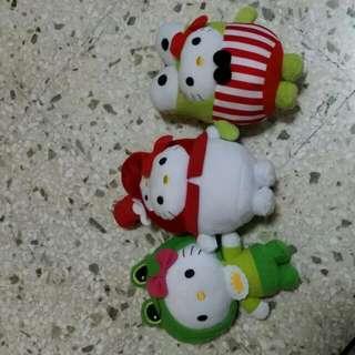 Hello Kitty Soft Toy Set