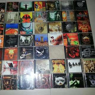 Rock And Metal Music CDs Albums