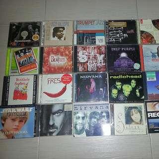 Random English Music CDs