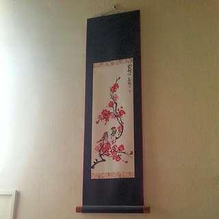 Wall Decor Scroll From Korea