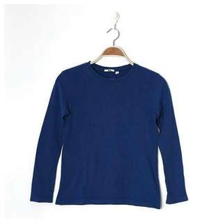 Uniqlo Basic Blue