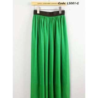 [Instock] BN Chiffon Maxi Skirt