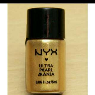NYX ultra Pearl Mania Pigments In Yellow Gold , Pearl