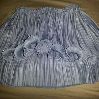 Authentic Innit Pleat Top In Grey