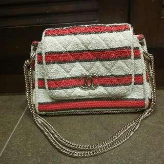 624e95626b5e chanel tweed bag   Luxury   Carousell Singapore