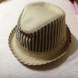 Fedora Hat With Stripe