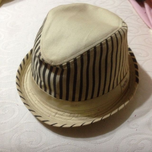 Fedora Hat With Stripe