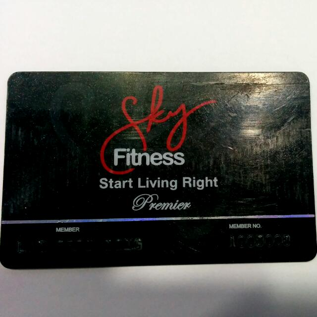 Gym Membership (Sky fitness)