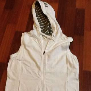 Esprit Sleeveless Hooded Jacket