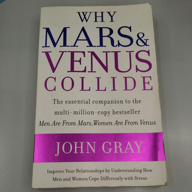 Why Mars And Venus Collide Books Stationery On Carousell
