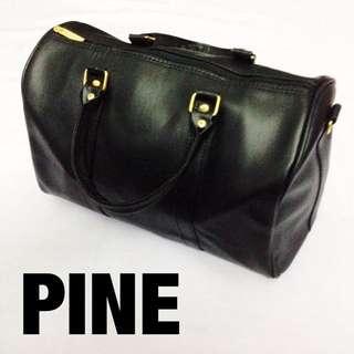 Black Basic Tote Bag