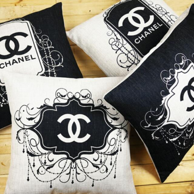 """CHANEL"" Decorative Pillows"