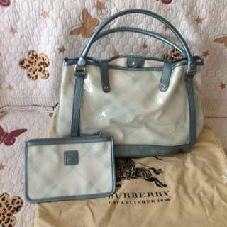 Burberry Bag With Receipt.