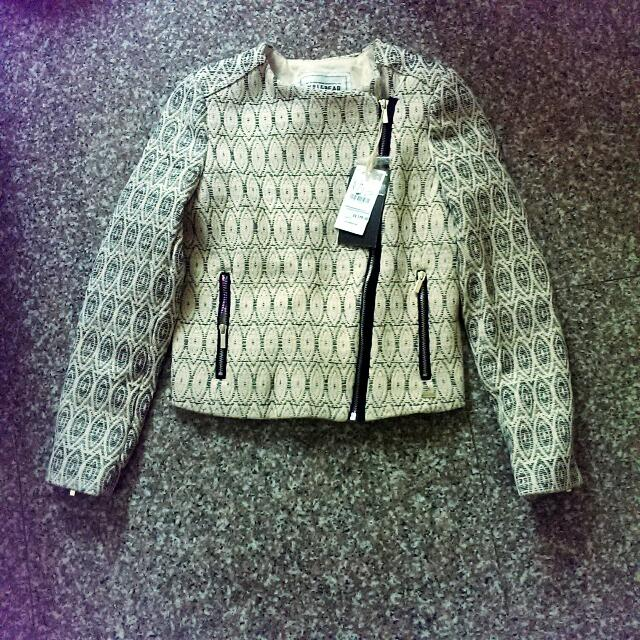 BN Pull & Bear cropped jacket