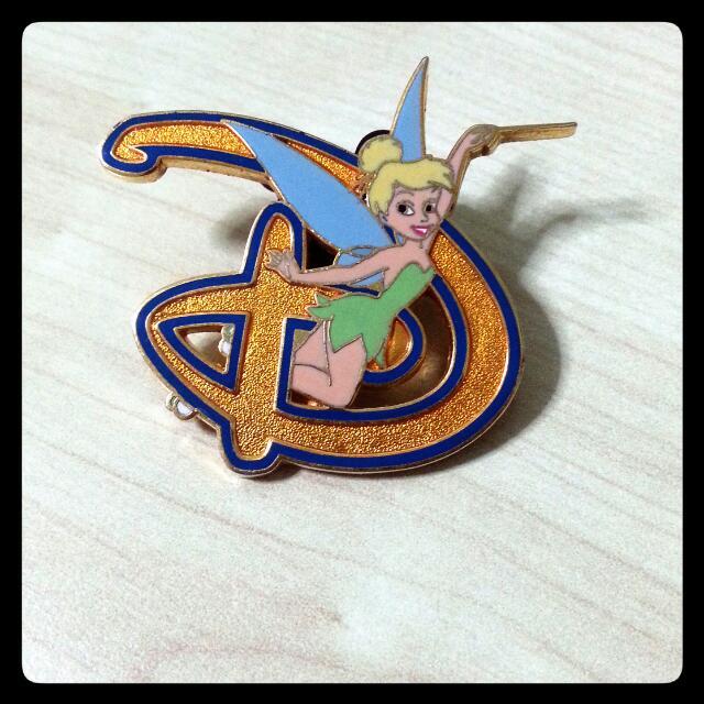 Disney D-Letter Fairy Pin