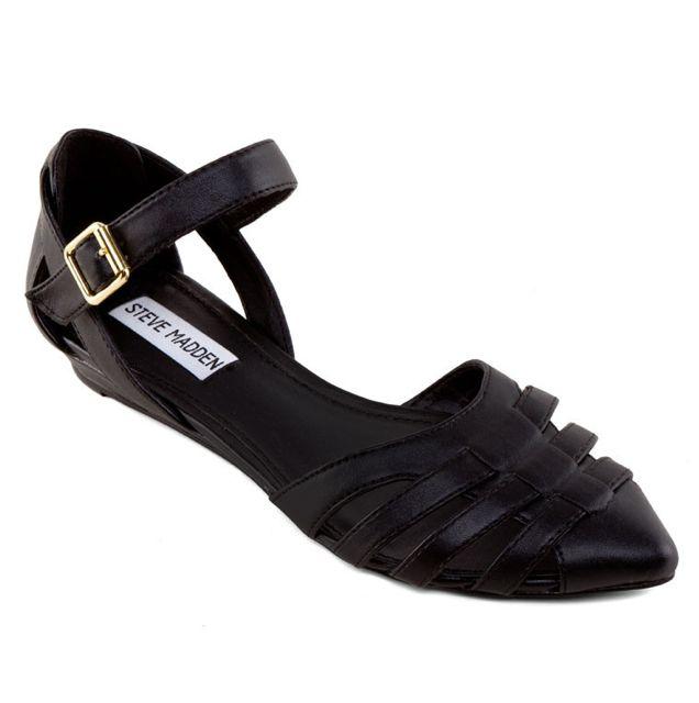 Steve Madden Strappy Sandals In Black