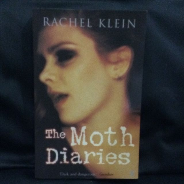 The Moth Diaries Novel By Rachel Klein Books Stationery On