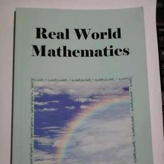 real World mathematics