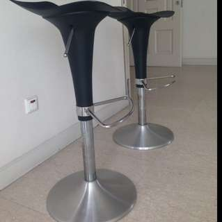 Bar Stools (a Pair) For Sale