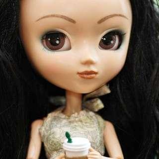 Rare Squall Black Hair Pullip 2003
