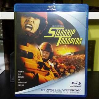 Blu-ray: Starship Troopers