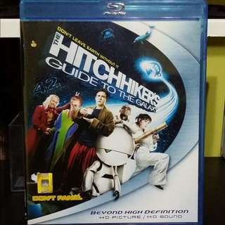 Blu-ray: The Hitchiker's Guide To The Galaxy