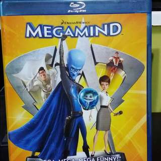 Blu-ray: Megamind