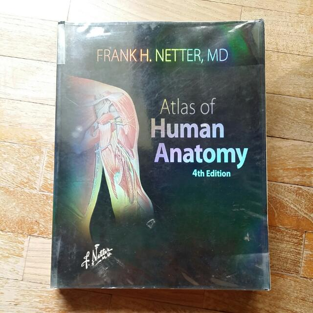 Netters Atlas Of Human Anatomy 4th Edition Books Stationery
