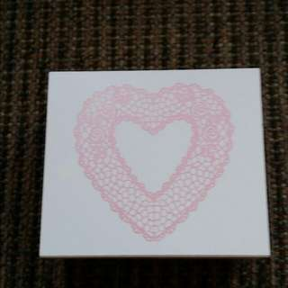Heart Shape Stamp (6 X 5 .5 cm)