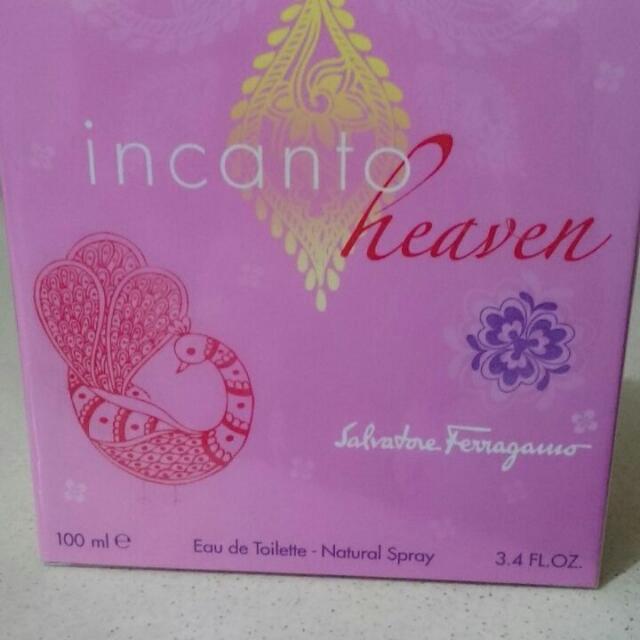 Authentic 100ml Salvatore Ferragamo Incanto Heaven Perfume